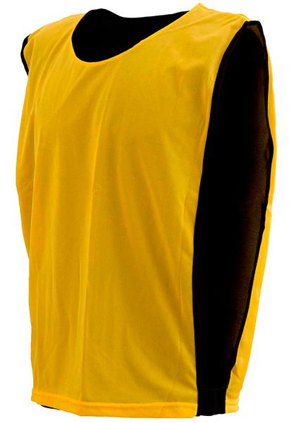 Colete Dupla Face Dry Amarelo com Preto - Coletes para Futebol e3fd58d776406