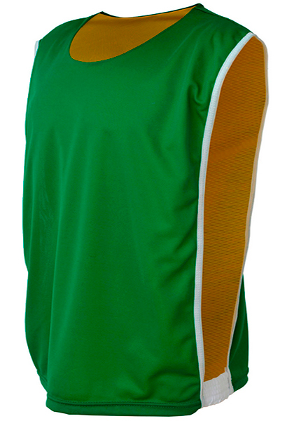 Colete Dupla Face Dry Verde com Amarelo - Coletes para Futebol 726645cf0cd03
