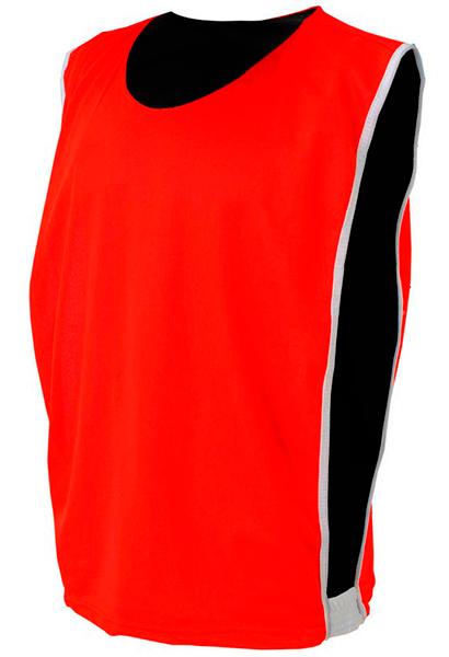 Colete Dupla Face Dry Vermelho com Preto - Coletes para Futebol 41a763af13de6
