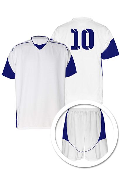 Uniforme de Futebol Munique Branco com Verde - Kit com 16 - Coletes ... f4952d4de58de