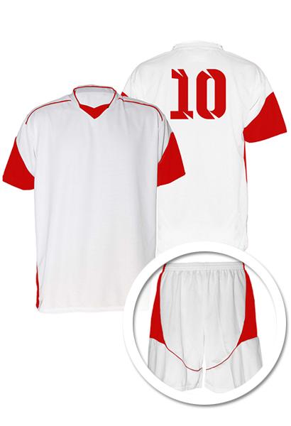 2ea5eeaa69 Uniforme de Futebol Munique Branco com Verde - Kit com 16 - Coletes ...