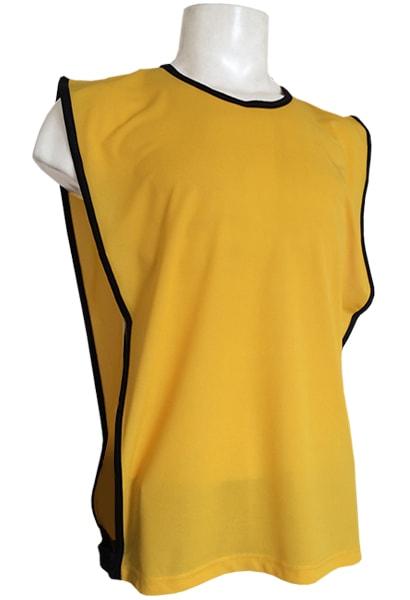 e9823186c2157 Colete para Futebol Poliéster Dry Amarelo - Coletes para Futebol ...