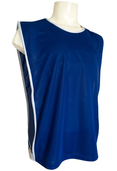 c5e9d0eea0f16 Colete para Futebol Poliéster Dry Azul Royal - Coletes para Futebol ...