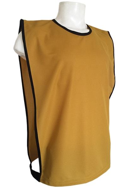 2a9c179ed7544 Colete para Futebol Poliéster Dry Dourado - Loja Coletes para Futebol