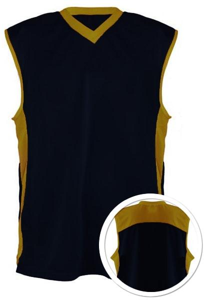 Camisa de Basquete Preto com Dourado e0d0893909eda