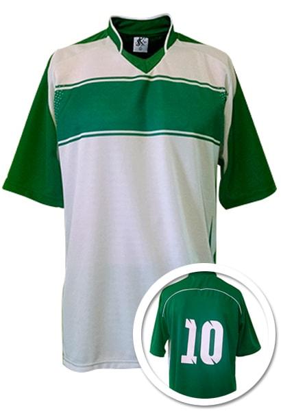 Camisa de Futebol Lottus Premium Verde Bandeira com Branco 42d958dd9c223