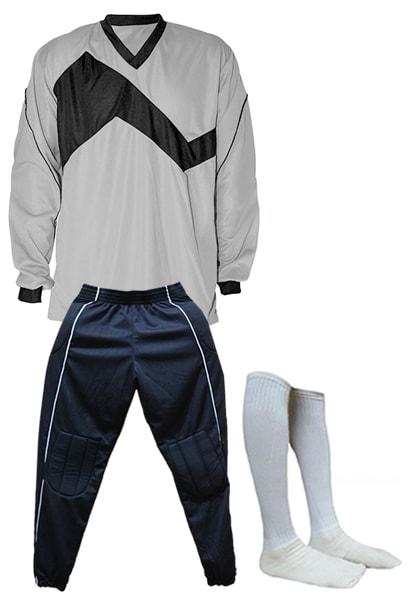 15087a794 Uniforme de Futebol Texas Branco com Dourado - Kit com 16 - Coletes ...