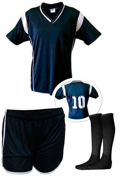 Kits de Uniformes de Futebol Feminino - Uniplace - Coletes para Futebol 8f8e620f39d0f