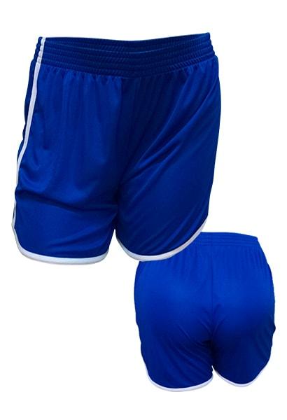 f1781e57a9 Calção de Futebol Feminino Ferrara Azul Royal - Coletes para Futebol